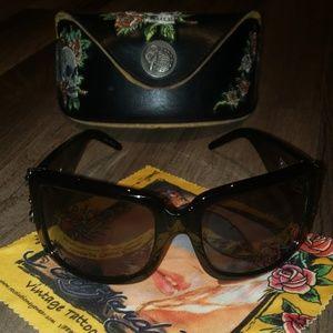 Ed Hardy original womens sunglasses
